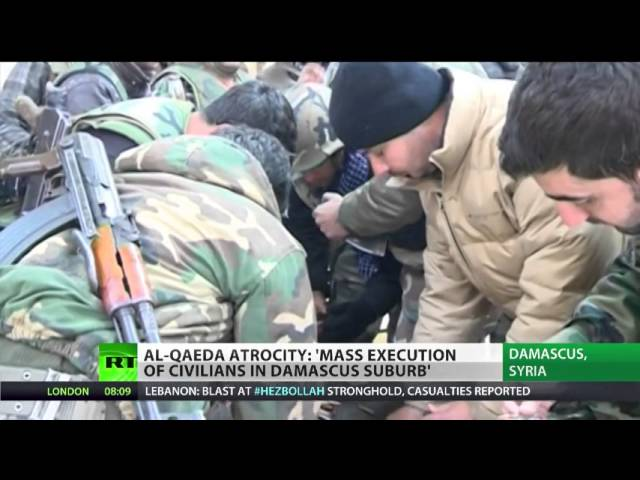 Syria Atrocities: US-NATO have Blood on their Hands. Al Qaeda Slaughters Civilians in Adra
