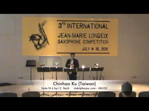 3rd JMLISC: Chinhao Ku (Taiwan) Cello Suite N.6 by J.S. Bach