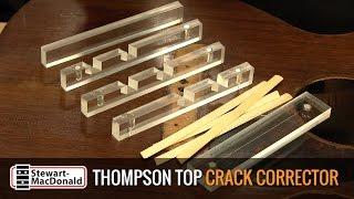 Watch the Trade Secrets Video, TJ Thompson Top Crack Repair Video