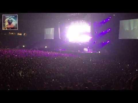Swedish House Mafia @ Friends Arena playing - Wakanda