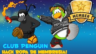 Hack Ropa De Membresia Club Penguin 2014-2015