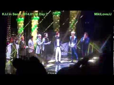 [Fancam] 20140126 KJJ in Seoul - J Party - 6 Games (JJ vs JGS)