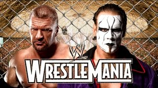 Triple H vs Sting Wrestlemania 31 Promo HD