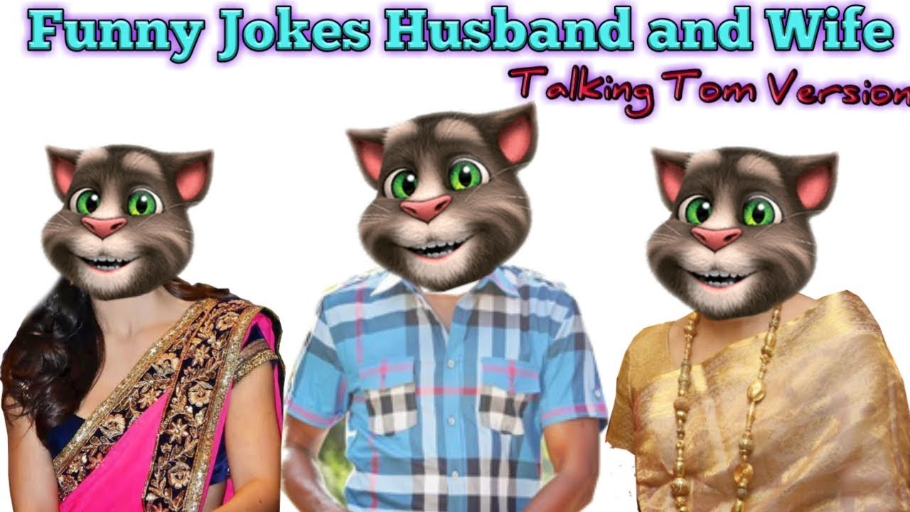 Funny Jokes   Husband and Wife   Talking Tom Version   comedy series#7