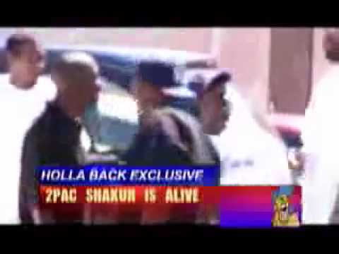 Tupac Shakur Is Alive!!!! Footage of him walking around in Cuba