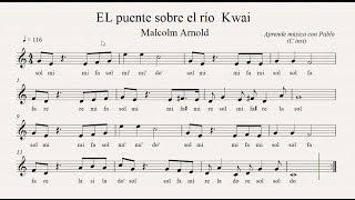 EL PUENTE SOBRE EL RÍO KWAI: (flauta, Violín, Oboe