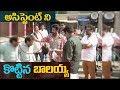 Balakrishna beats his assistant || #NBK102 movie launch || Balakrishna KS Ravikumar || Indiaglitz