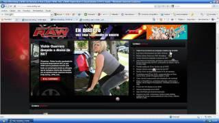 DONDE PUEDO VER EVENTOS DE LA WWE 2013 HD EN VIVO Y EN