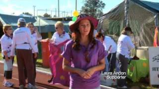 Laura Andon Hosts Relay For Life - Cancer Council!