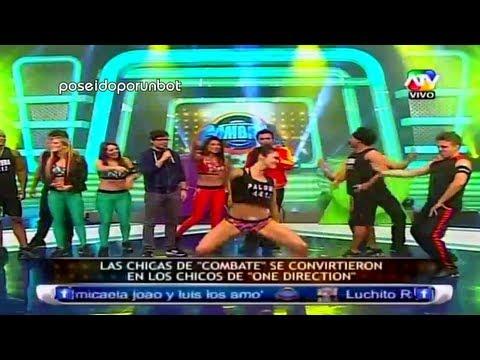 COMBATE: Paloma y las Chicas de Combate se Visten como Hombres en One Direction 13/06/13