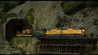 Model Freight Trains With Sound Decoders