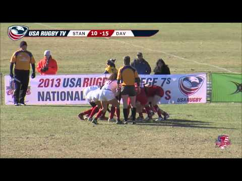 2013 USA Rugby College 7s National Championship: Stanford vs Davenport