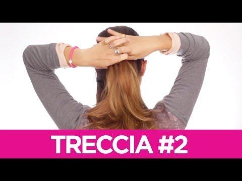 Come fare delle trecce particolari ai capelli 2 | Le Acconciature fai-da-te di Elisa | Tutorial