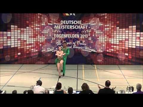 Sabrina Walgenbach & Moritz Schneider - Deutsche Meisterschaft 2013