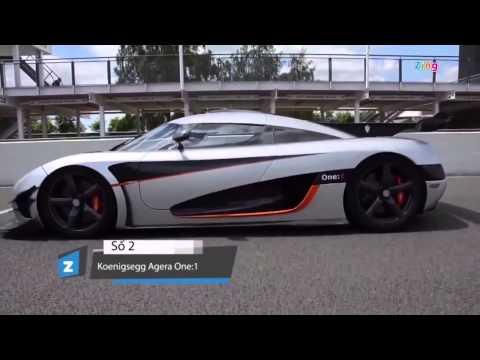 5 siêu xe mạnh nhất thế giới 2015