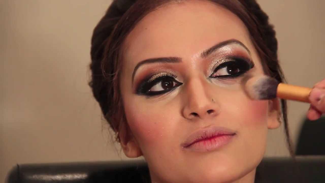Glamorous Asian Bridal Makeover - Hair and Make up by Fahmida Ashiq ...