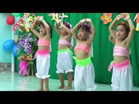 Múa Ấn Độ  -  ALIBABA  -  Lớp lá bậc học mầm non