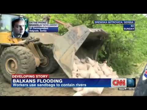cnn Balkan flood, N1 Branislav Sovljanski