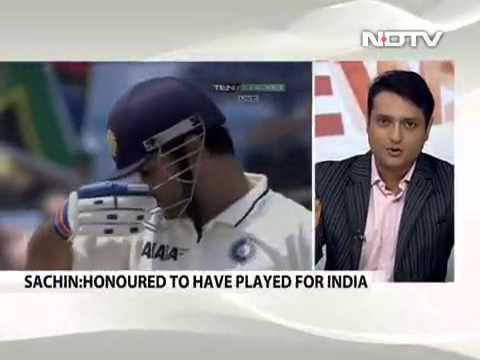 Sachin Tendulkar batted like a giant at No  4  Sunil Gavaskar Video