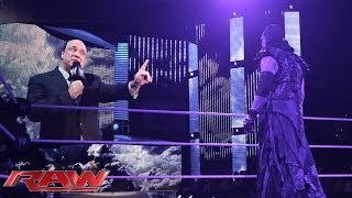 Undertaker Vows To Keep His Streak Alive At WrestleMania