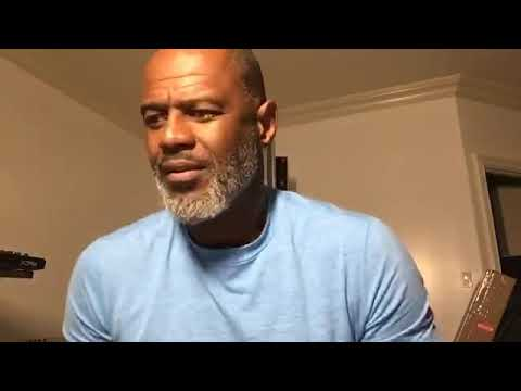 Brian McKnight paying tribute to his friend James Ingram