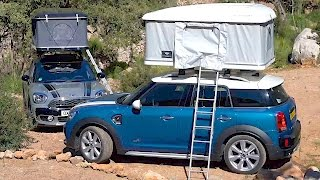 Roof Tent for the Mini Countryman. YouCar Car Reviews.
