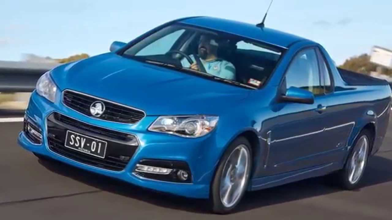 Holden VF Commodore Ute SSV Redline