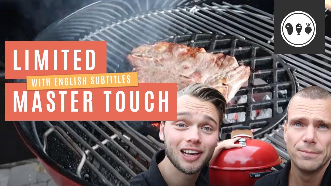 Eerste keer BBQen op de 'Weber Master Touch GBS Limited Edition Red'