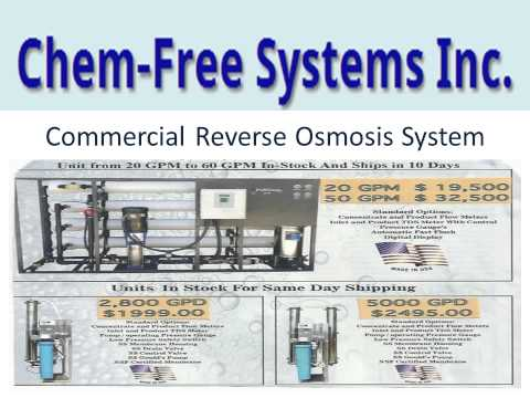 Chemfree Systemsinc Vending Water Machines