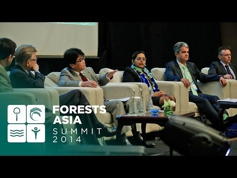 Forests Asia 2014 - Day 2 High-Level Panel Discussion, Climate change and low emissions development