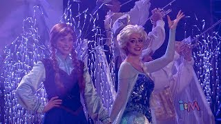 Frozen Fireworks At Walt Disney World With Anna, Elsa