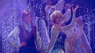 Frozen Fireworks At Walt Disney World With Anna, Elsa