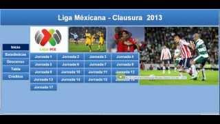 Liga Mexicana Fixture Excel Clausura 2013