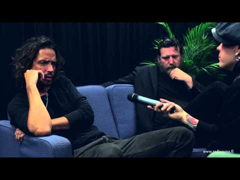 Soundgarden interview with Radio Nova Finland, HD