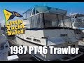 1987 PT 46 Performance Trawler for sale at Little Yacht Sales Kemah Texas