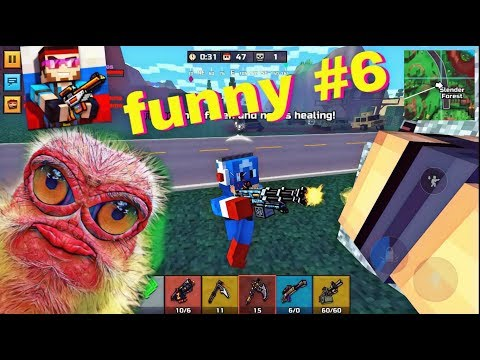 Pixel Gun 3D - Funny Moments #6 - Lol Montage in the Battle Royale