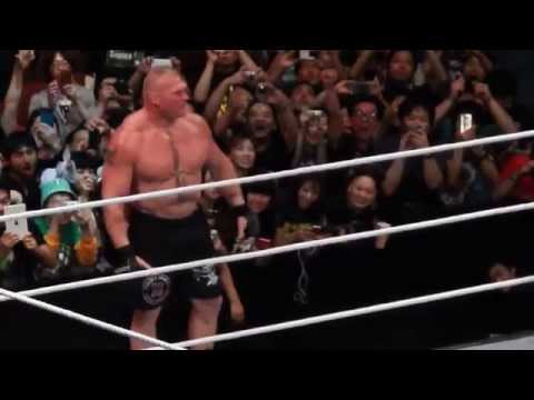 WWE Japan tour 2015 Brock Lesnar VS Kofi Kingston