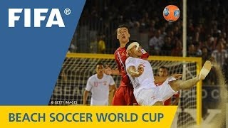History made at thrilling Beach Soccer World Cup