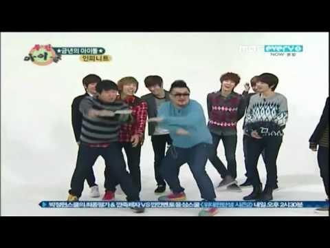 Sunggyu ruins Infinite's dance