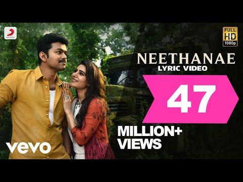 Mersal - Neethanae Tamil Video