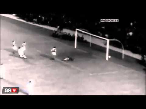 Los Mejores Goles de Alfredo Di Stefano en el Real Madrid 2014