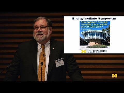 Mark Barteau-Energy Institute Fall Symposium | MconneX | Lectures on Demand on YouTube