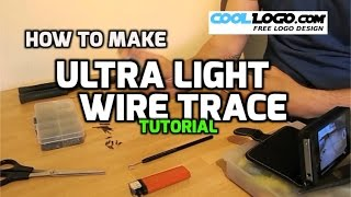 How To Make A Wire Trace For Ultra Light Lure Fishing