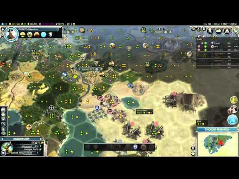 Civilization 5: Gods and Kings #7 - Las Boobas