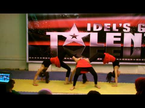 عرض جمباز الأكروبات ( فريق النجم ) فى مسابقة IDEL'S Got Talen الذي صعد للدور النهائي