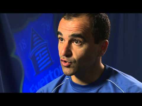 Roberto Martinez on the Hull game and retro day celebrations