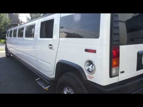 2003 Hummer Limousine For Sale~20 Passenger Limo~Chrome Wheels~New Tires~Tow Package