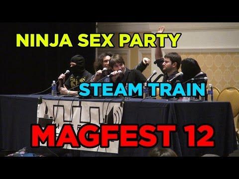 svensk pornostjerne ninja sex party