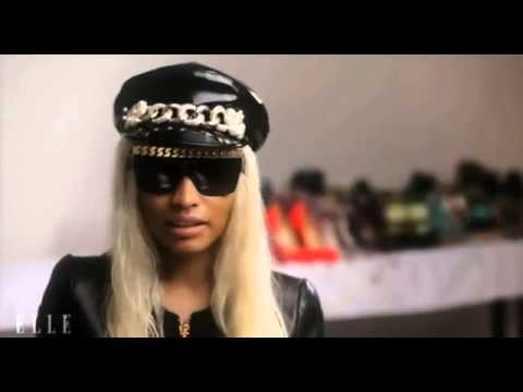 Behind The Cover: Nicki Minaj Interview [Elle.com]