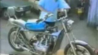 Caídas tontas en moto